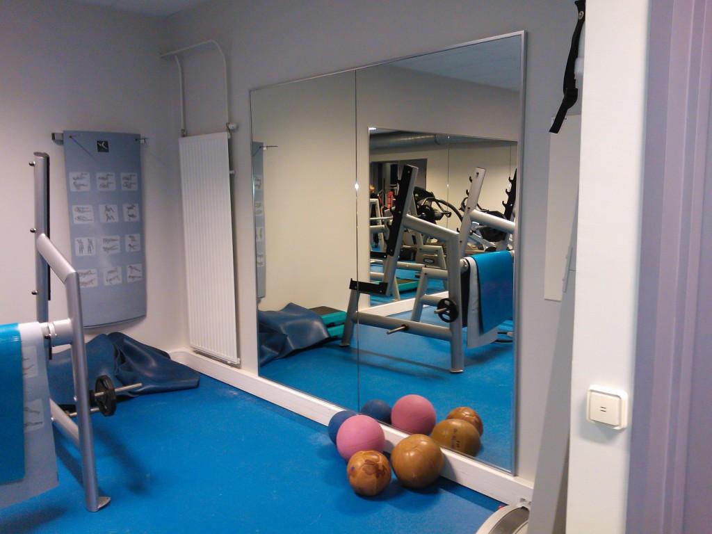 Зеркала в спортзале своими руками 36