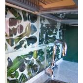 Кухонный фартук стекло