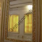 Зеркало серебро в багетной раме